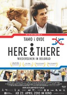 Tamo i ovde - German Movie Poster (xs thumbnail)