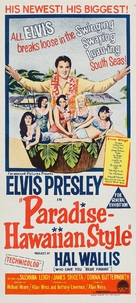 Paradise, Hawaiian Style - Australian Movie Poster (xs thumbnail)