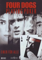Four Dogs Playing Poker - German DVD cover (xs thumbnail)