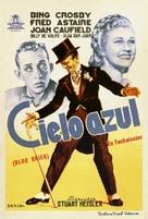 Blue Skies - Spanish Movie Poster (xs thumbnail)
