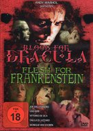 Flesh for Frankenstein - German DVD cover (xs thumbnail)