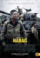 Fury - Hungarian Movie Poster (xs thumbnail)