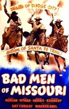 Bad Men of Missouri - Movie Poster (xs thumbnail)