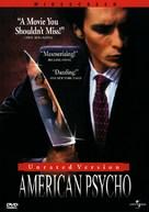 American Psycho - DVD cover (xs thumbnail)