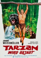 Tarzan and the Huntress - German Re-release movie poster (xs thumbnail)