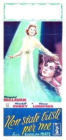 No Sad Songs for Me - Italian Movie Poster (xs thumbnail)