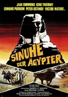 The Egyptian - German Movie Poster (xs thumbnail)