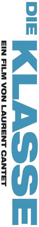Entre les murs - German Logo (xs thumbnail)