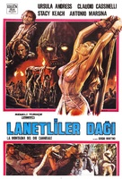 La montagna del dio cannibale - Turkish Movie Poster (xs thumbnail)