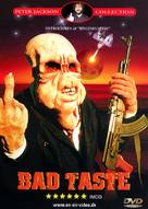 Bad Taste - Danish DVD cover (xs thumbnail)
