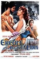 Ercole e la regina di Lidia - Italian Movie Poster (xs thumbnail)