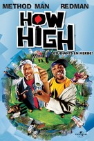 How High - French DVD movie cover (xs thumbnail)