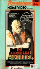 The Abominable Dr. Phibes - Australian VHS movie cover (xs thumbnail)
