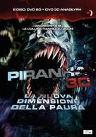 Piranha - Italian DVD movie cover (xs thumbnail)