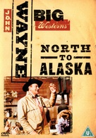 North to Alaska - British DVD cover (xs thumbnail)