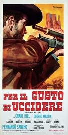 Per il gusto di uccidere - Italian Movie Poster (xs thumbnail)