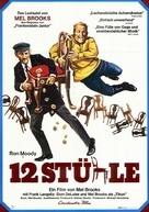 The Twelve Chairs - German Movie Poster (xs thumbnail)