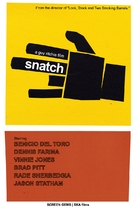 Snatch - DVD cover (xs thumbnail)