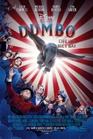 Dumbo - Vietnamese Movie Poster (xs thumbnail)