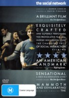 The Social Network - Australian DVD movie cover (xs thumbnail)