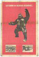 Kingu Kongu no gyakushû - Mexican Movie Poster (xs thumbnail)