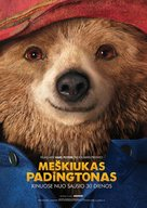 Paddington - Lithuanian Movie Poster (xs thumbnail)