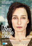 Il y a longtemps que je t'aime - Australian Movie Poster (xs thumbnail)