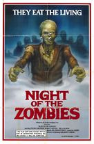 Night of the Zombies - Movie Poster (xs thumbnail)
