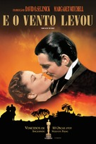 Gone with the Wind - Brazilian DVD cover (xs thumbnail)