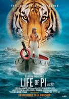 Life of Pi - Dutch Movie Poster (xs thumbnail)