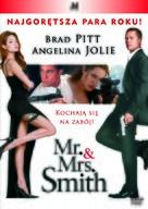 Mr. & Mrs. Smith - Polish Movie Cover (xs thumbnail)