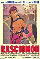 Rashômon - Italian Movie Poster (xs thumbnail)