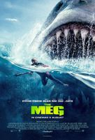 The Meg - Malaysian Movie Poster (xs thumbnail)