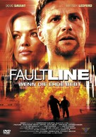 Faultline - German Movie Cover (xs thumbnail)