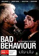 Bad Behaviour - Australian DVD cover (xs thumbnail)