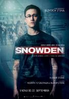 Snowden - Slovenian Movie Poster (xs thumbnail)