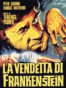 The Revenge of Frankenstein - Italian DVD cover (xs thumbnail)