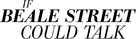 If Beale Street Could Talk - Logo (xs thumbnail)