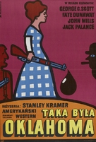 Oklahoma Crude - Polish Movie Poster (xs thumbnail)