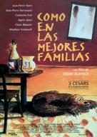 Un air de famille - Spanish Movie Poster (xs thumbnail)