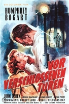 Knock on Any Door - German Movie Poster (xs thumbnail)