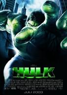 Hulk - German Movie Poster (xs thumbnail)
