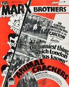 Animal Crackers - British poster (xs thumbnail)