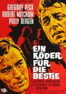 Cape Fear - German Movie Poster (xs thumbnail)