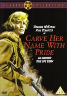 Carve Her Name with Pride - British DVD cover (xs thumbnail)
