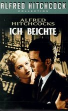 I Confess - German VHS cover (xs thumbnail)