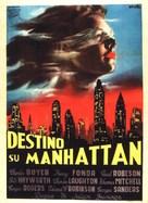 Tales of Manhattan - Italian Movie Poster (xs thumbnail)