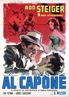 Al Capone - Italian Movie Poster (xs thumbnail)