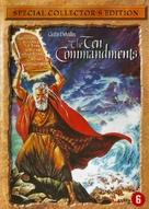 The Ten Commandments - Dutch DVD movie cover (xs thumbnail)