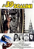 The Thirty Nine Steps - Italian Movie Poster (xs thumbnail)